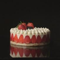 Le fraisier à la chantilly