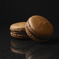 Le macaron chocolat