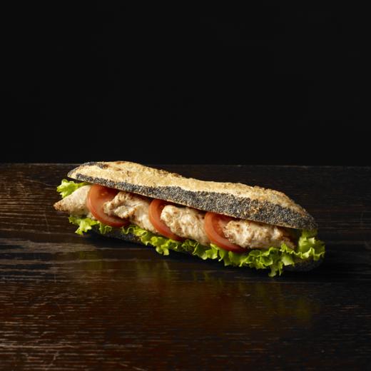 Le sandwich pavot poulet